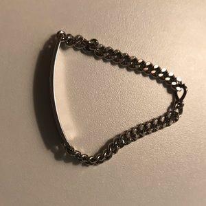 Jewelry - Vintage Silver Name Plate Bracelet w/ Diane